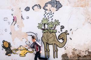 Djerbahood, artiste : JACE (Réunion)