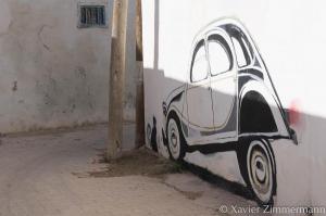 Djerbahood, artiste : WISIGN (Tunisie)