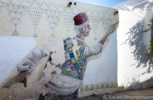 Djerbahood, artiste : MARIO BELEM (Portugal)