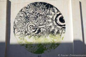 Djerbahood, artiste : M-CITY (Pologne)