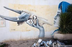 Djerbahood, artiste : LILIWENN (France)