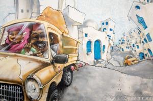 Djerbahood, artiste : NILKO (France)