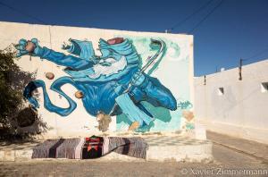 Djerbahood, artiste : DEYAA (Arabie Saoudite)