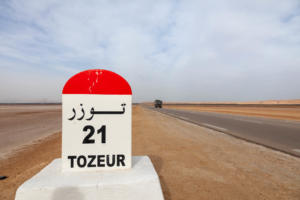 Tozeur - On the road
