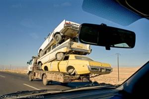Sur la route de Palmyre