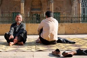 Alep, à la mosquée