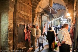 Alep, le souk